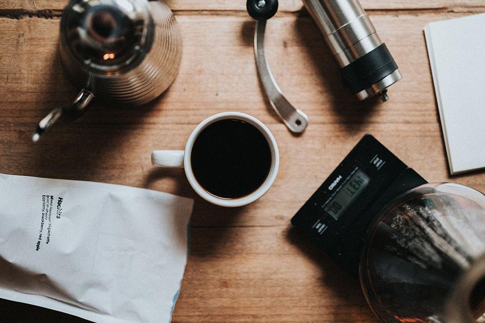 brygg kaffe med Aeropress
