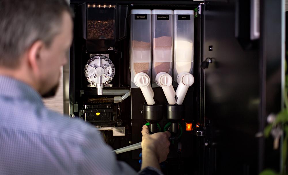 Service till din kaffemaskin
