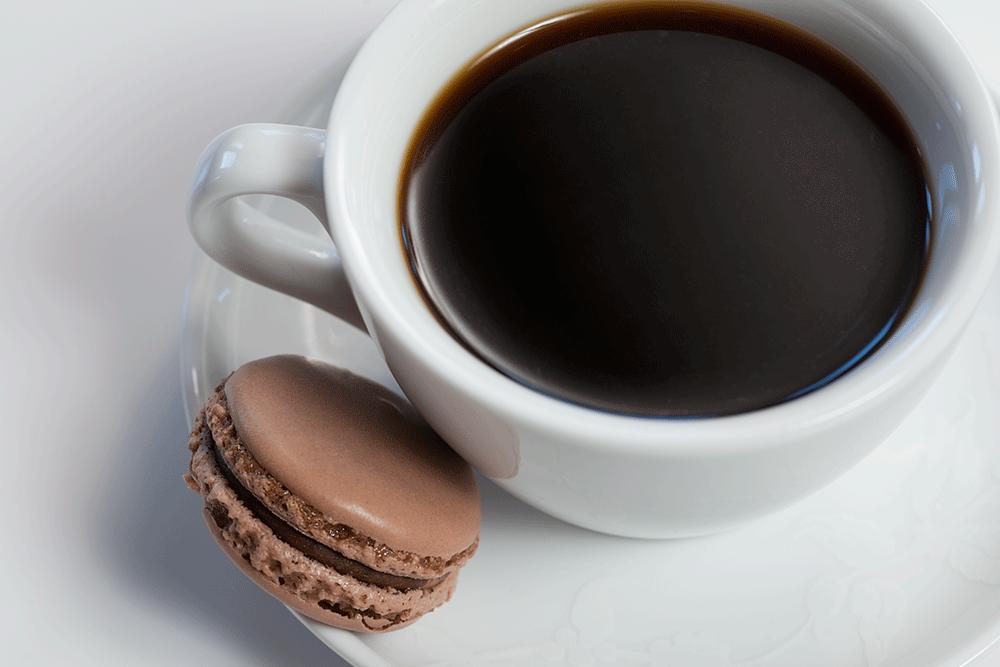 hur mkt kaffe per kopp