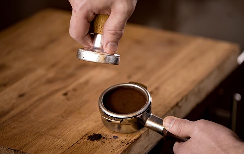 Tamp espresso
