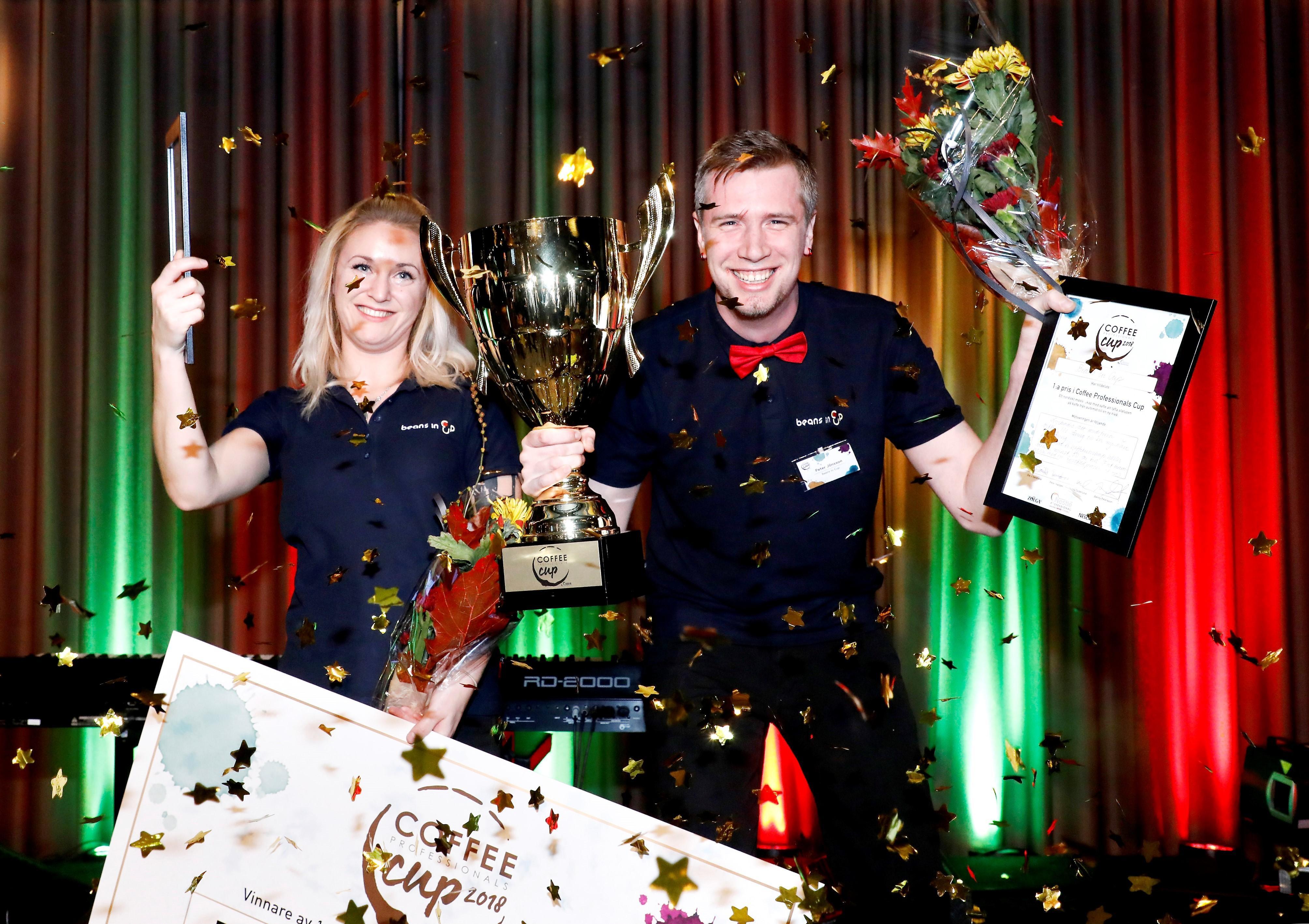 Vinnare Nordens bästa kaffe på jobbet