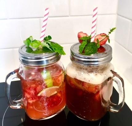 Gör en läskande sommardrink på kaffe eller te!
