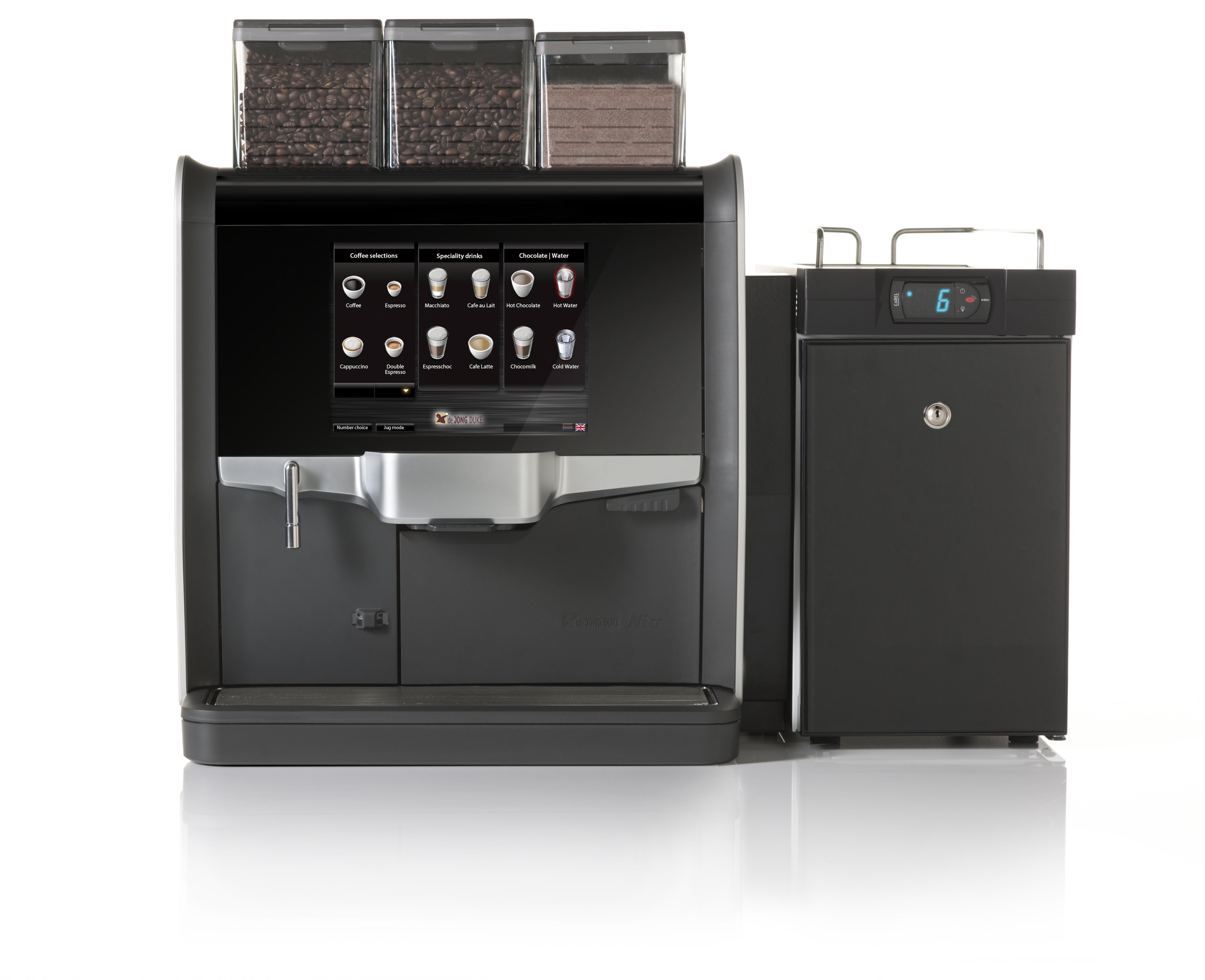 Nio Kaffemaskin på jobbet | Beans in Cup
