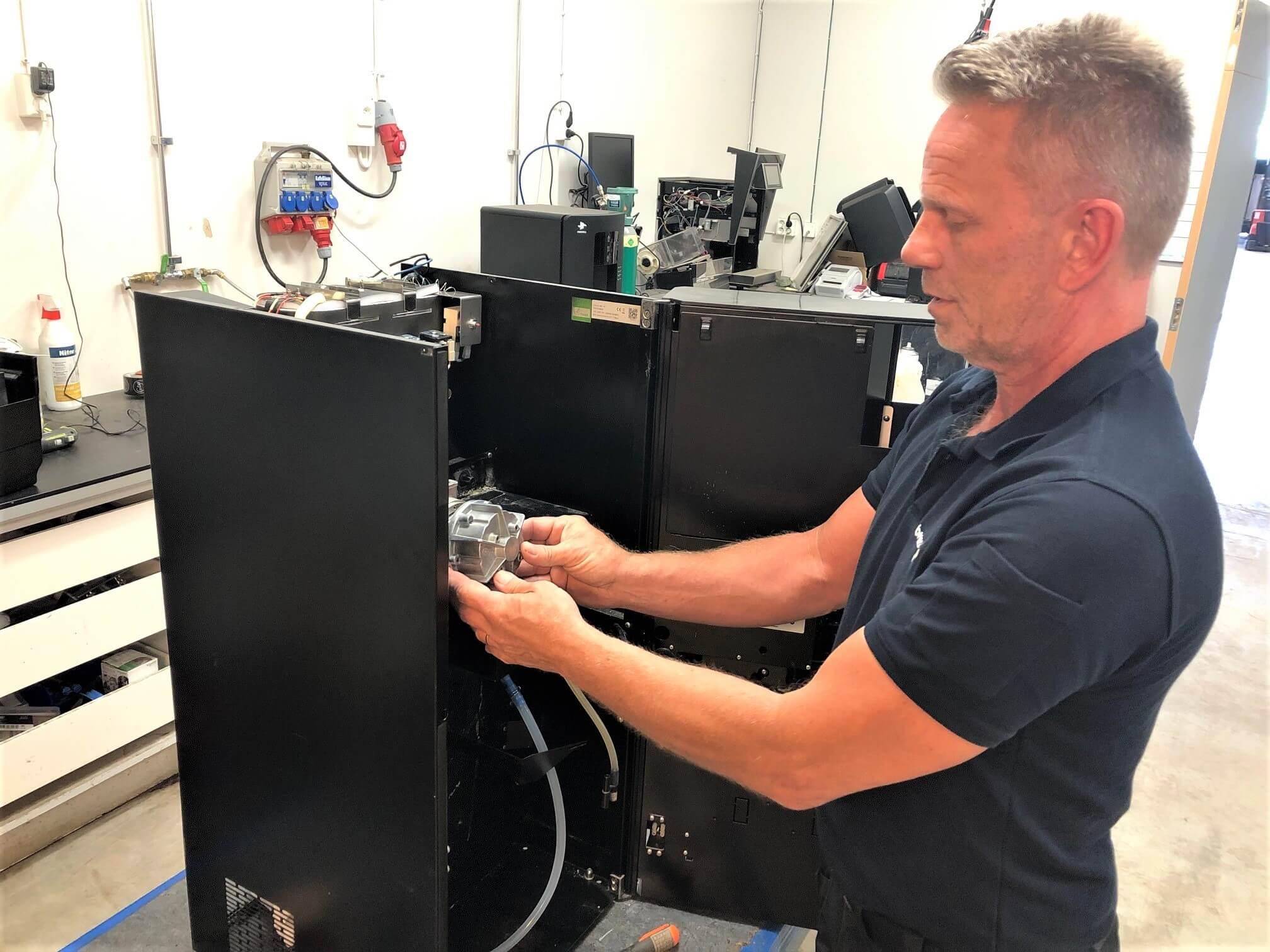 Gröna Maskiner – en rekonditionerad kaffelösning som minskar företagets klimatpåverkan