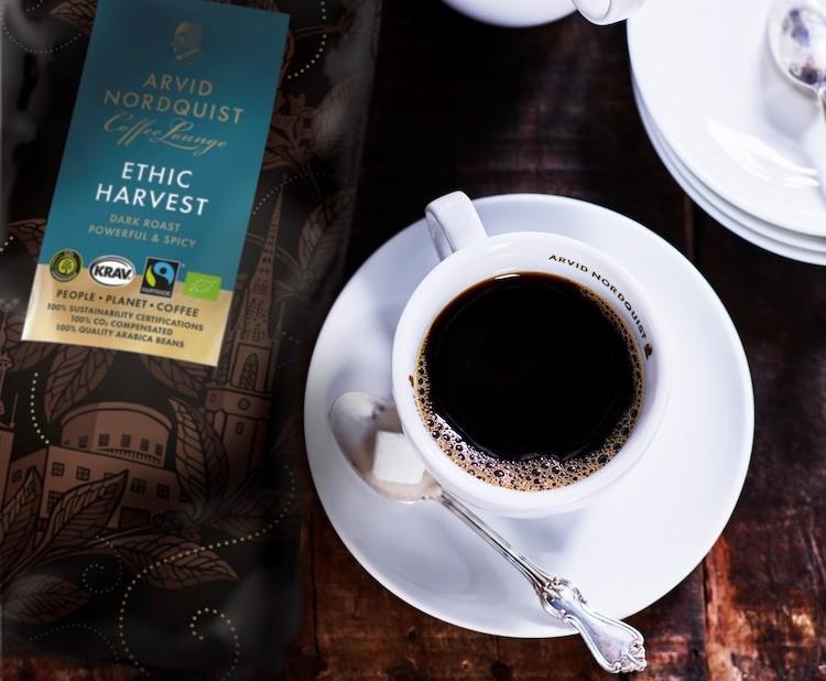 Arvid Nordquist kaffe erbjuder er
