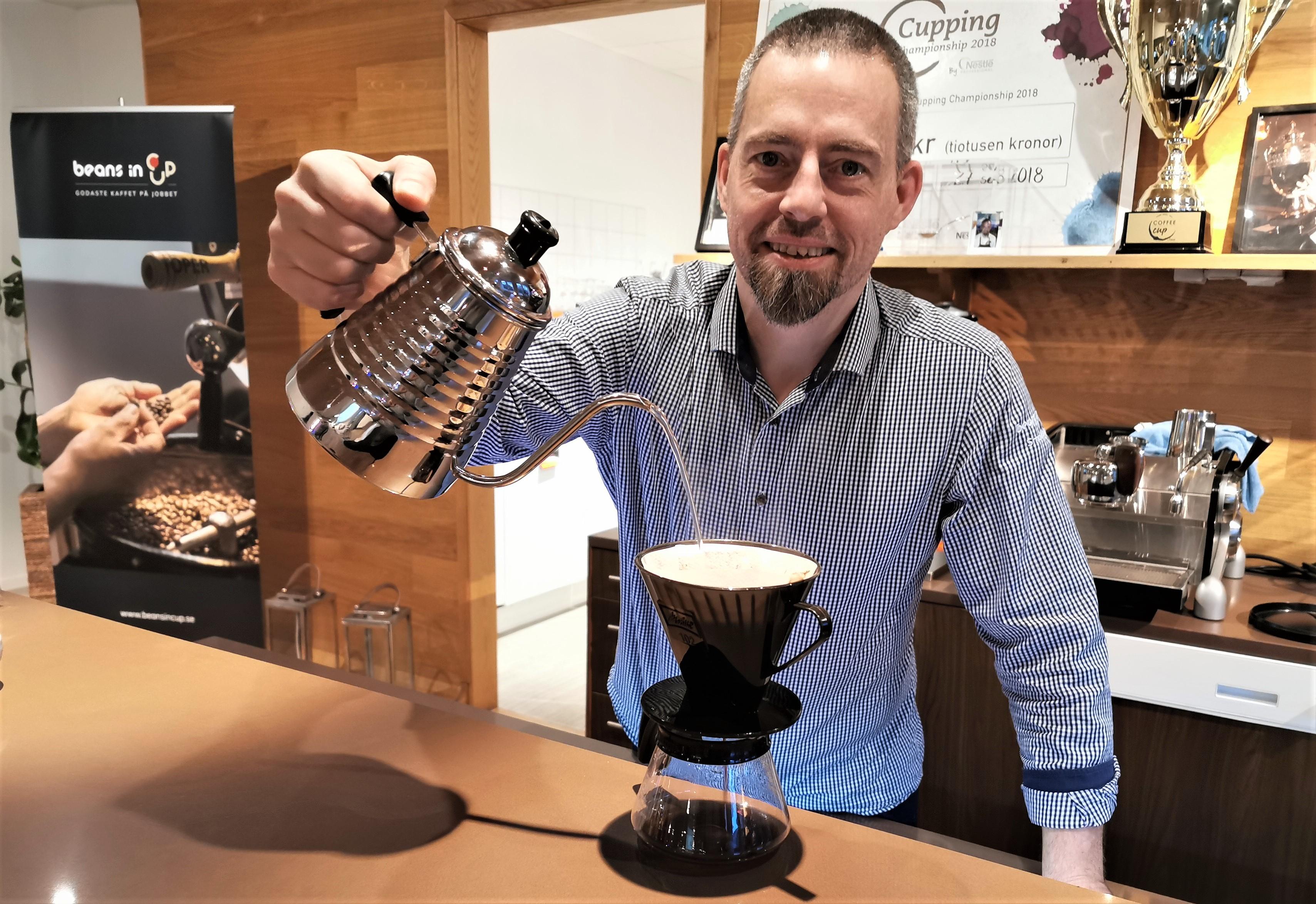 Så förbättrar du smaken på ditt kaffe hemma