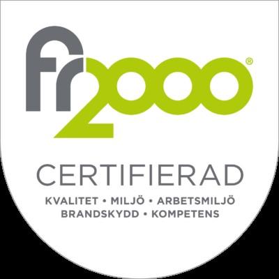 Beans in Cup är certifierade enligt FR2000