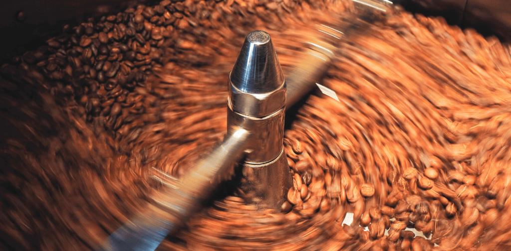 Rostning av kaffe