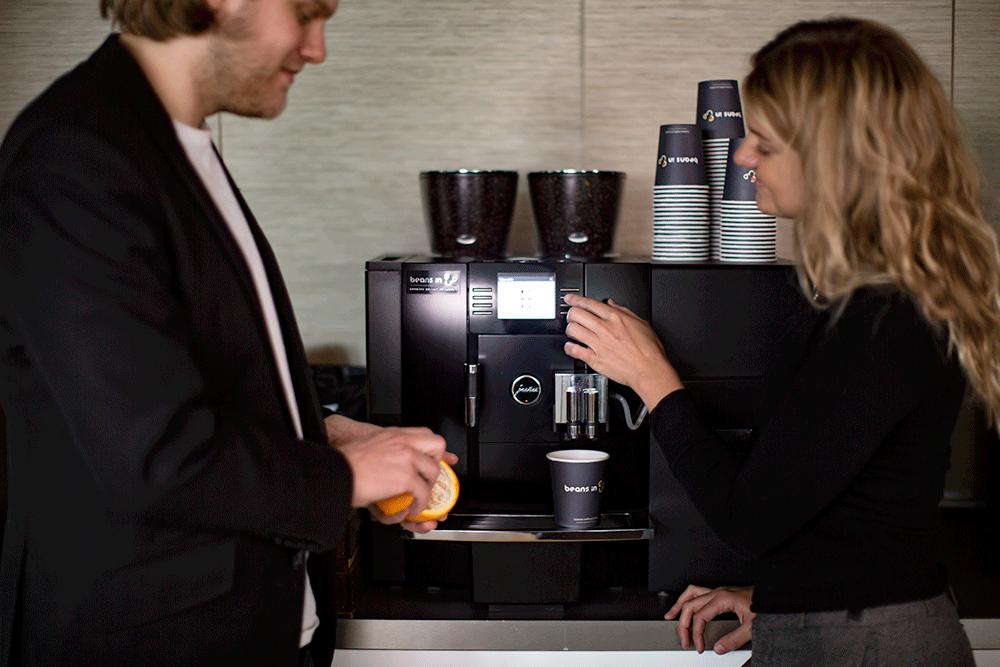 5 fördelar med att hyra kaffemaskin