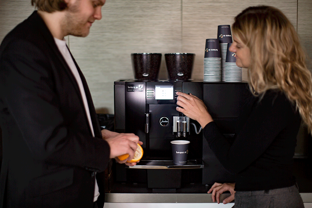 Leasing kaffemaskin