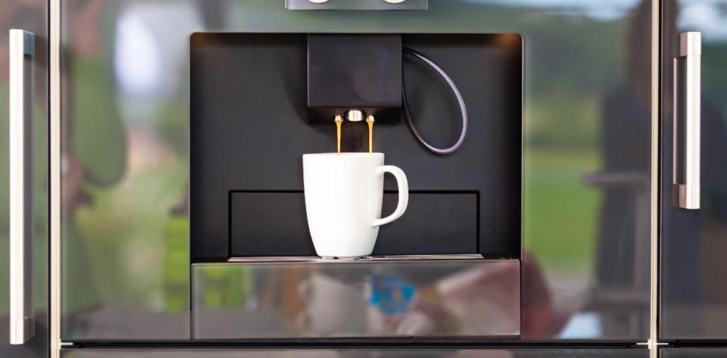 Professionell kaffemaskin
