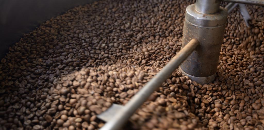 Ljusrostat kaffe