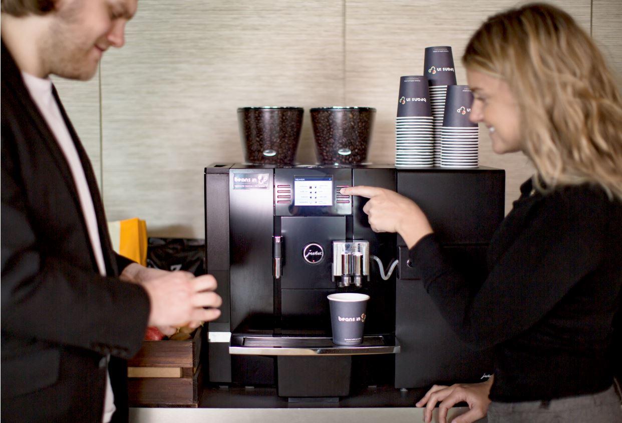 Beans in Cup och Convini har träffat en överenskommelse om överlåtelse av Office Coffee-kunder