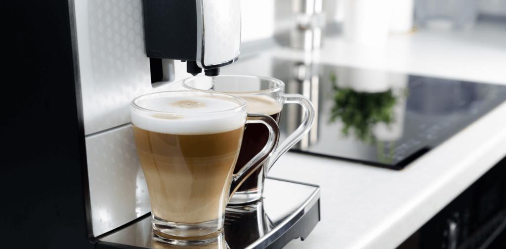 Kaffemaskin för hela bönor