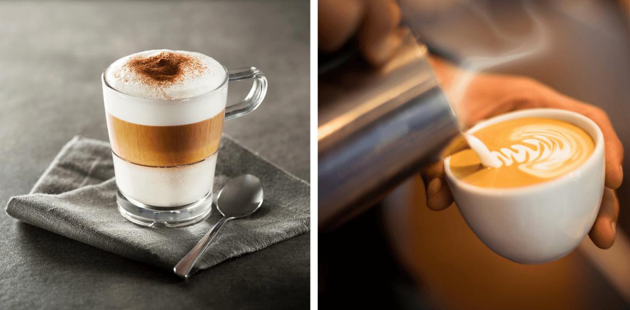 Vad är det för skillnad på macchiato och cappucino?