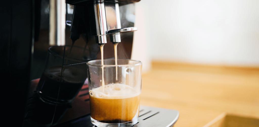 Kaffemaskin cappucino